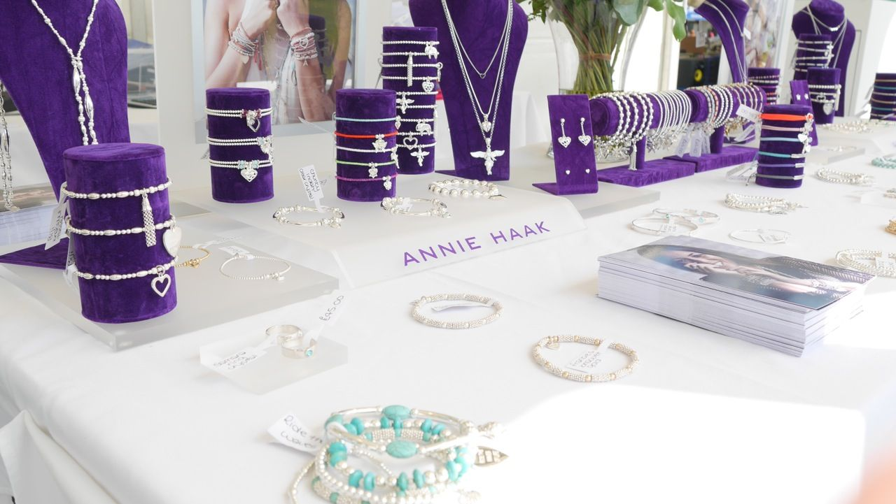 The beautiful collection looked fabulous at the Cowdray polo final on the 19th July 2015