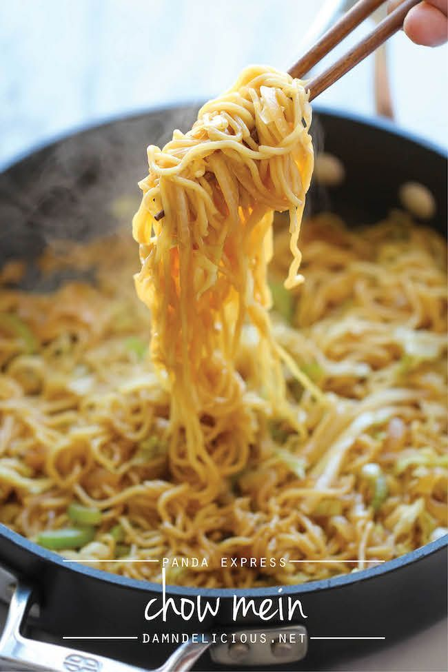 15 best better than takeout recipes copycat recipes pinterest panda express chow mein copycat tastes just like panda express except it takes just minutes to whip up and tastes a million times better ccuart Images