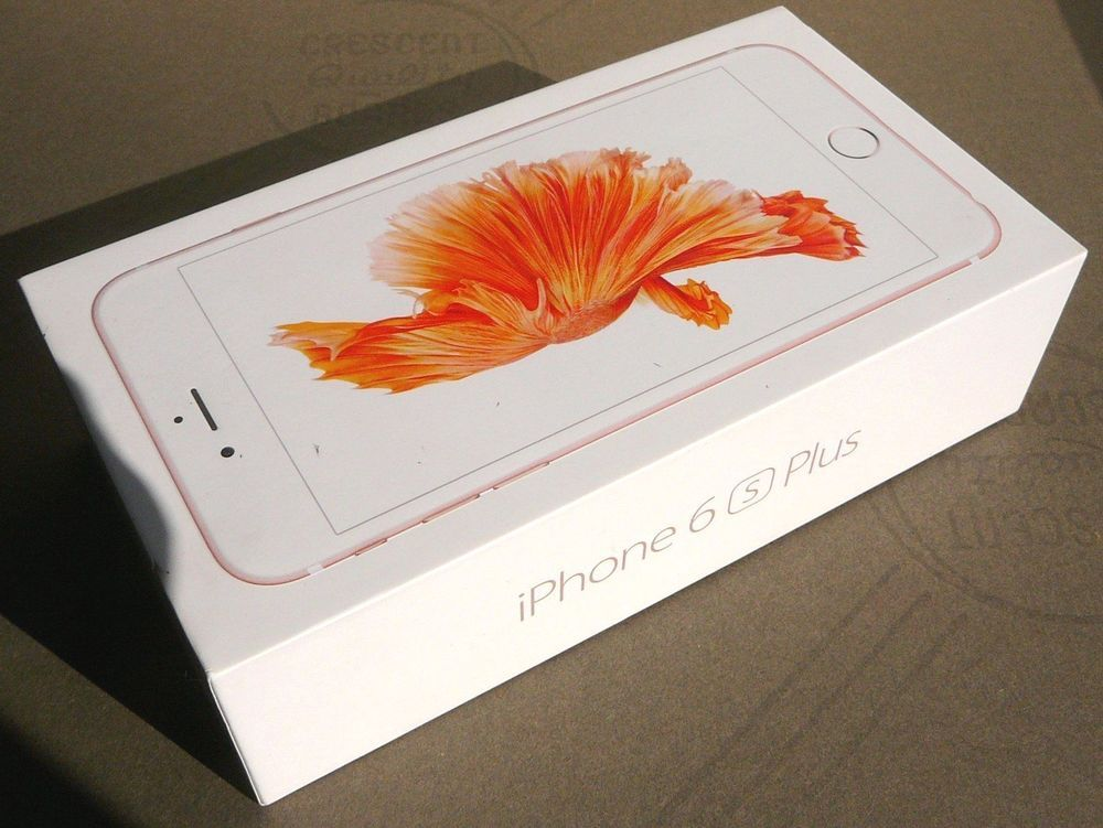 Iphone 6s Plus Rose Gold White Box Papers Only 64gb Excellent