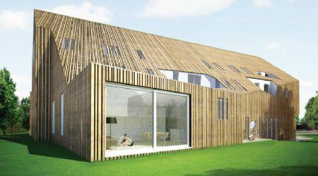Kantoorgebouw van reysschoot functionele eyecatcher hout pinterest renovatie en hout - Renovatie hout ...