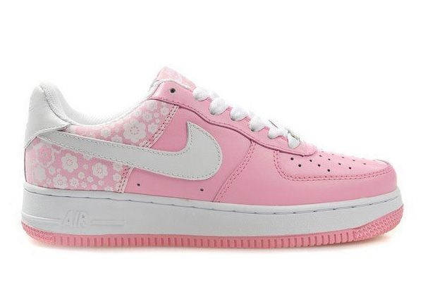 Color Rosa Pastel - Pink!!! Women's Nike Air Force Ones Low Shoes