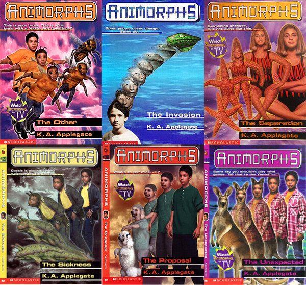 animorphs movie, <b> OG (weird) book series &#8216;Animorphs&#8217; is getting a movie adaptation </b>
