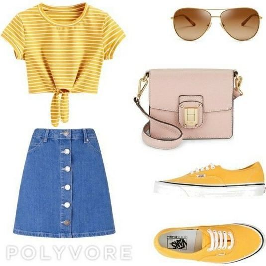 22 Wonderful Summer Polyvore Outfits Ideas  Fashionable is part of Outfits - 22 Wonderful Summer Polyvore Outfits Ideas  Womens Fashion  Fashionable
