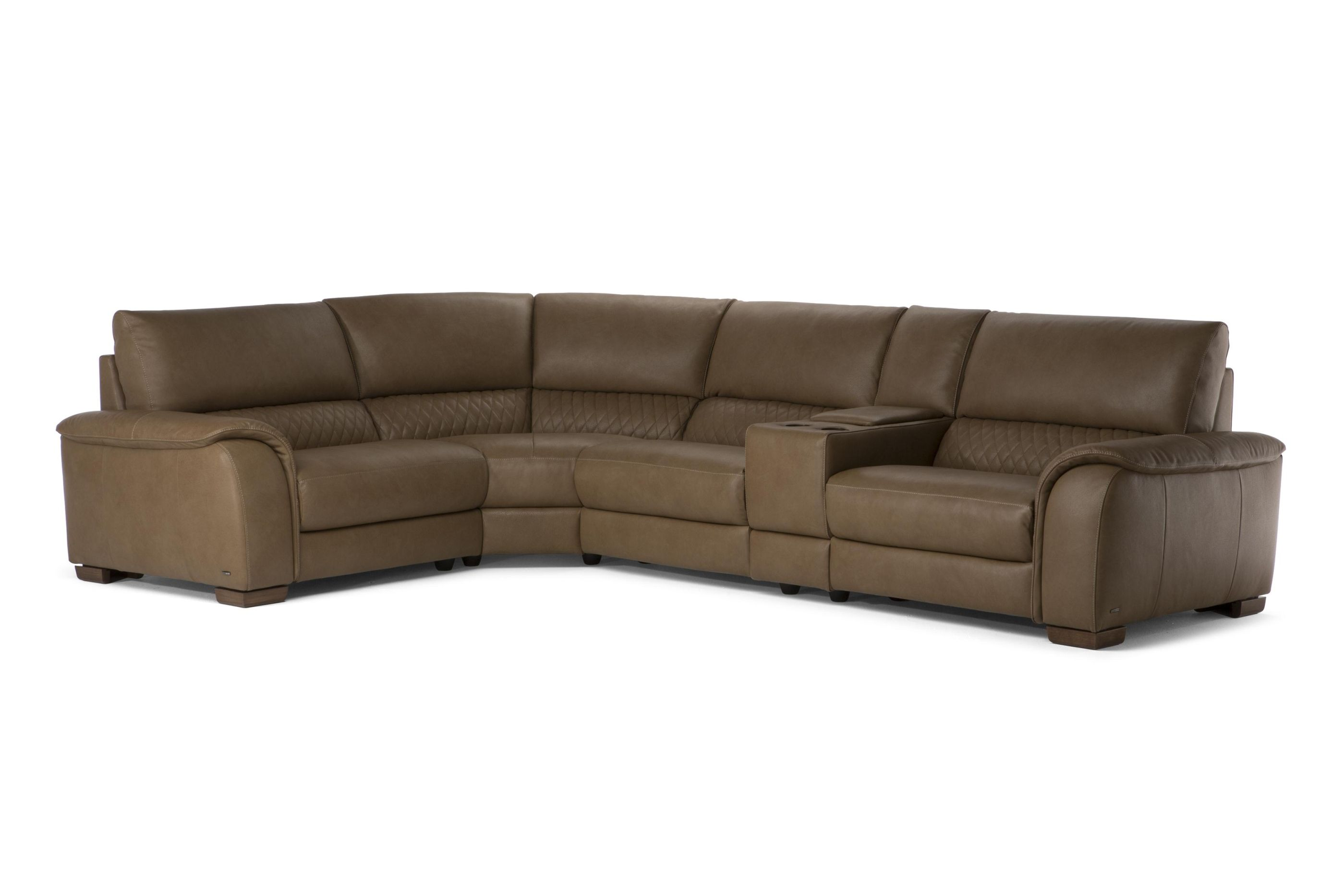 Natuzzi Editions Salvatore Sectional Sectional Sofas