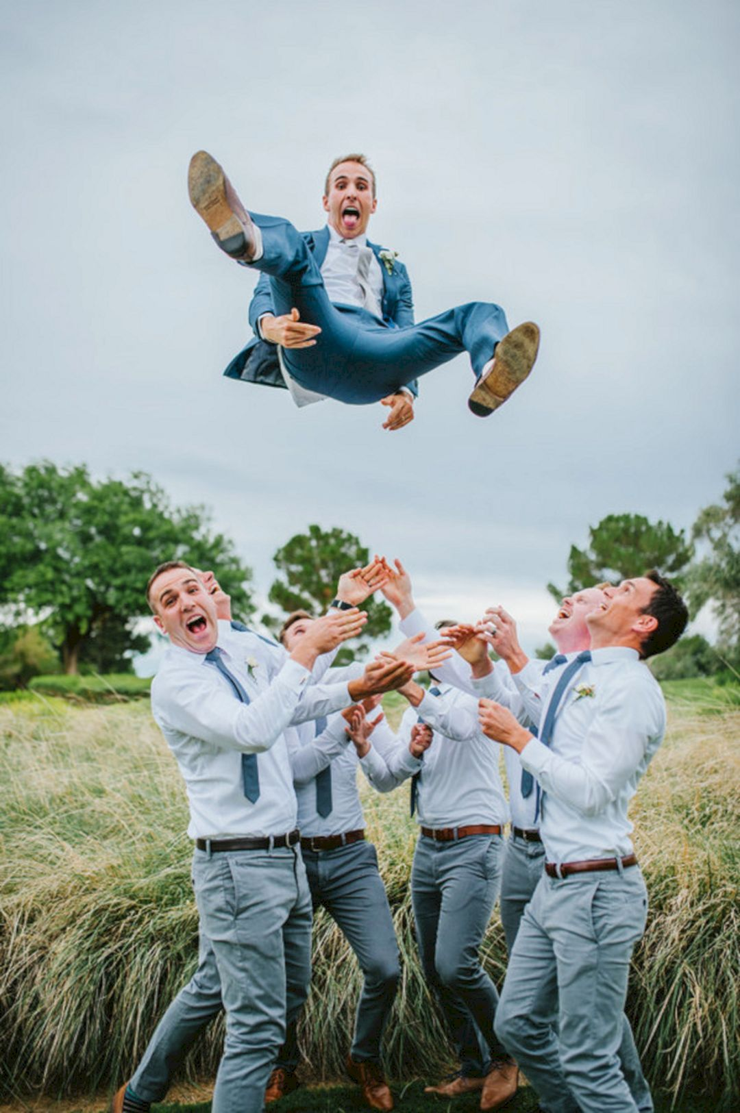 the best cool and unique groomsmen wedding engagements and