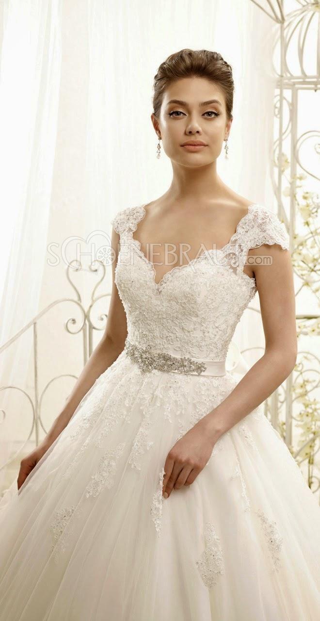 Brautkleider Prinzessin Rücken Spitze Lach Hochzeitskleider mit ...