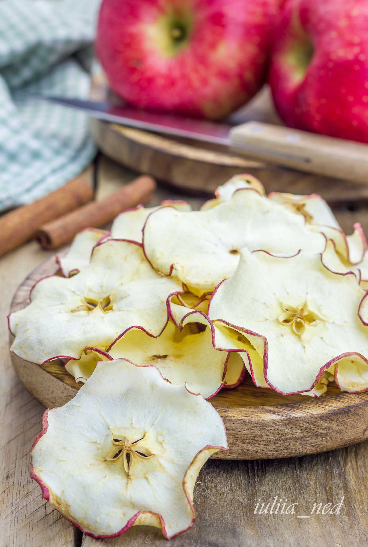 сушеные яблоки как сушить