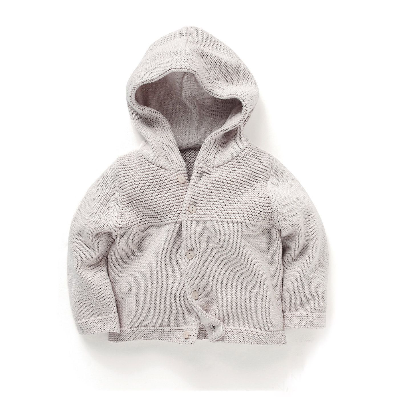 Textured Hooded Cardigan | The White Company | BCD | Pinterest ...