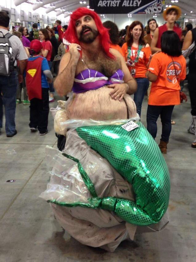 fail Mermaid costume