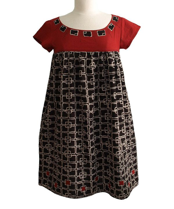Another great find on #zulily! Black Edie Swing Dress by Mata Traders #zulilyfinds