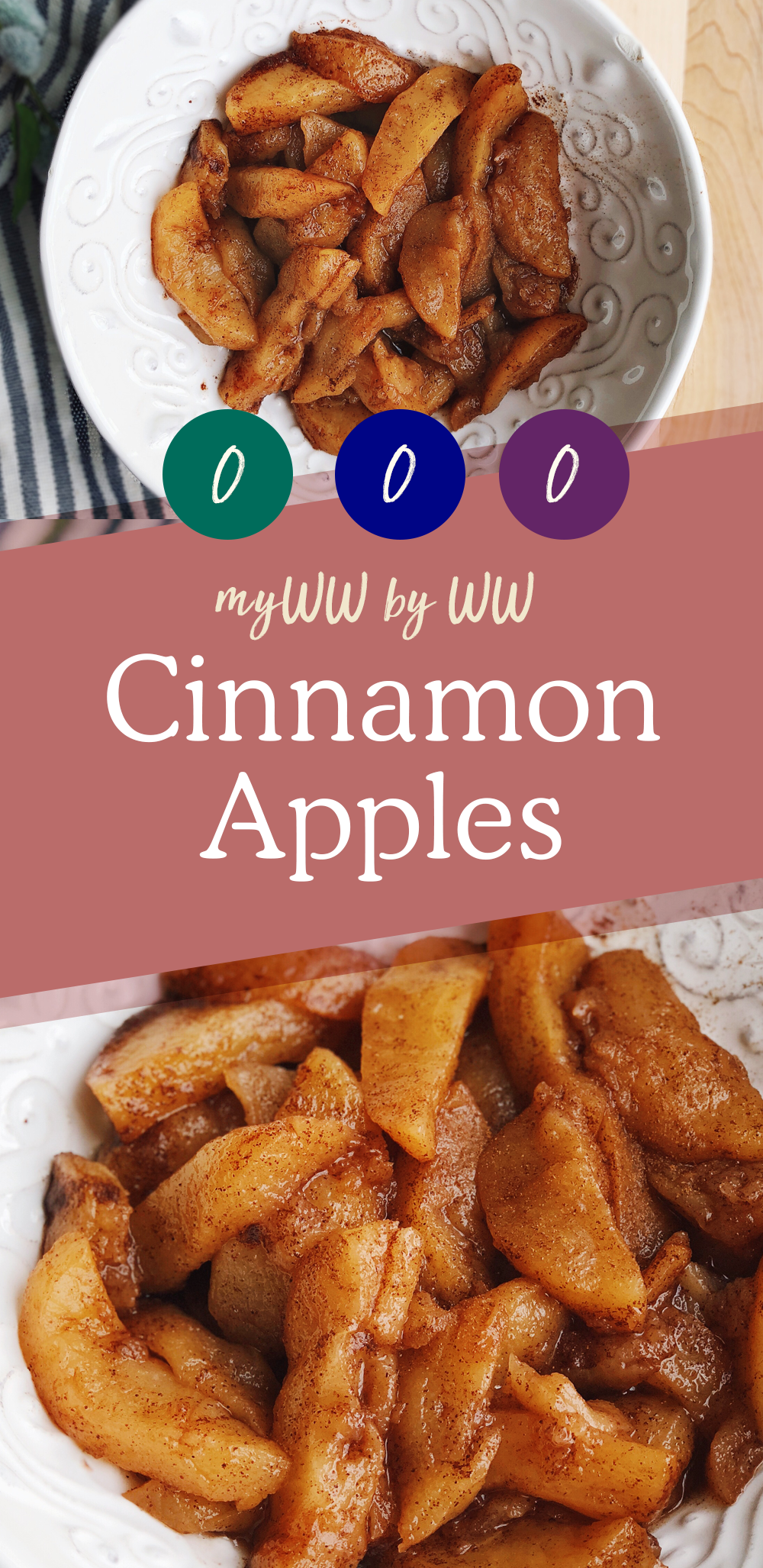 Weight Watchers Cinnamon Apples | ZERO Smartpoints - Lose it Lyss