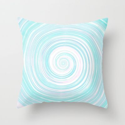 Re-Created Spin Painting No. 5 Throw Pillow by #Robert #Lee - $20.00 #art #spin #painting #drawing #design #circle