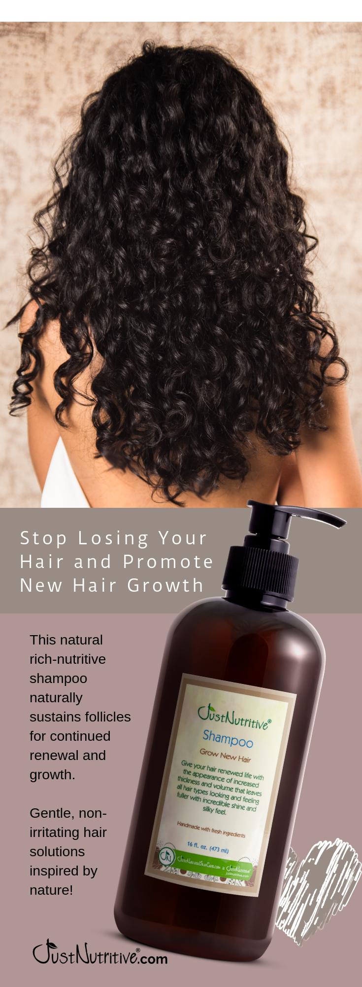 Grow New Hair Shampoo Hair Styles Hair Hacks New Hair