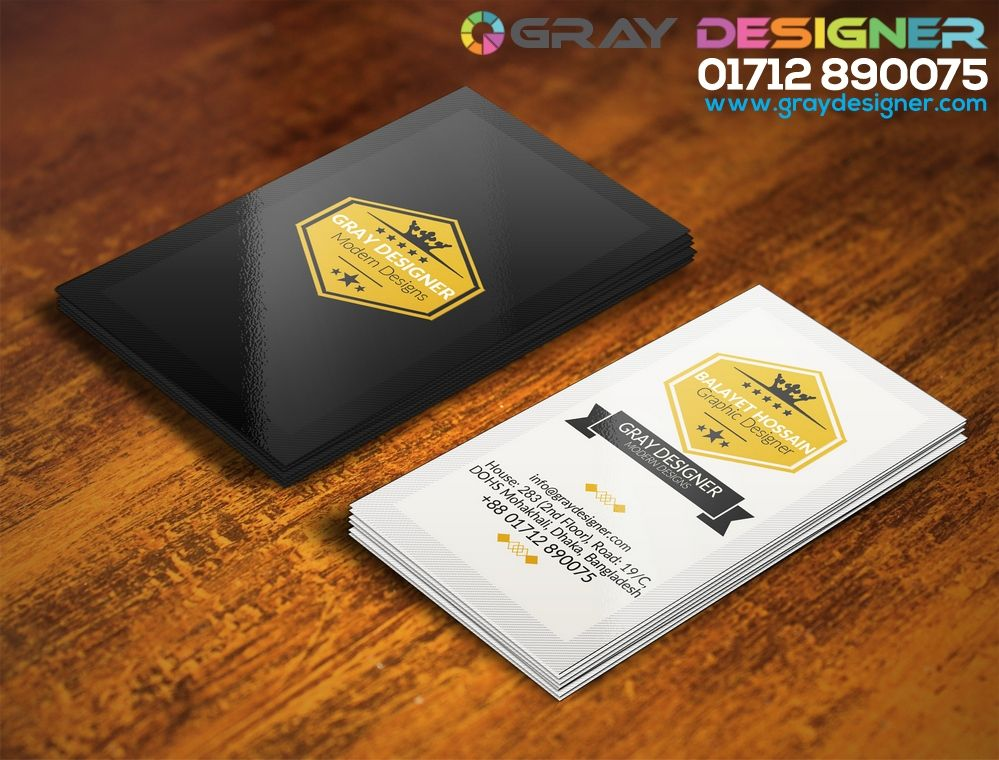 GrayDesignerVisitingCardJpg   Visiting Card