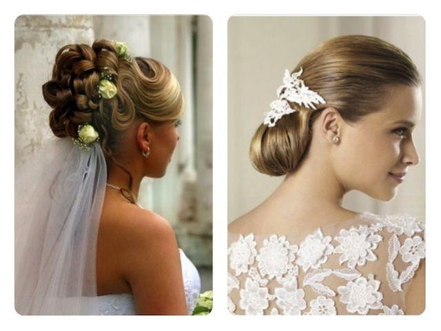 بالصور أجمل تسريحات الشعر لإطلالة عروس مميزة Flower Girl Dresses Bride Hairstyles Hair Styles