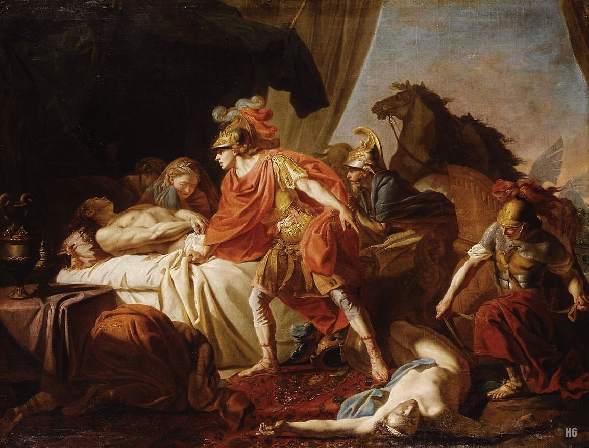 Pin on Depictions of Achilles