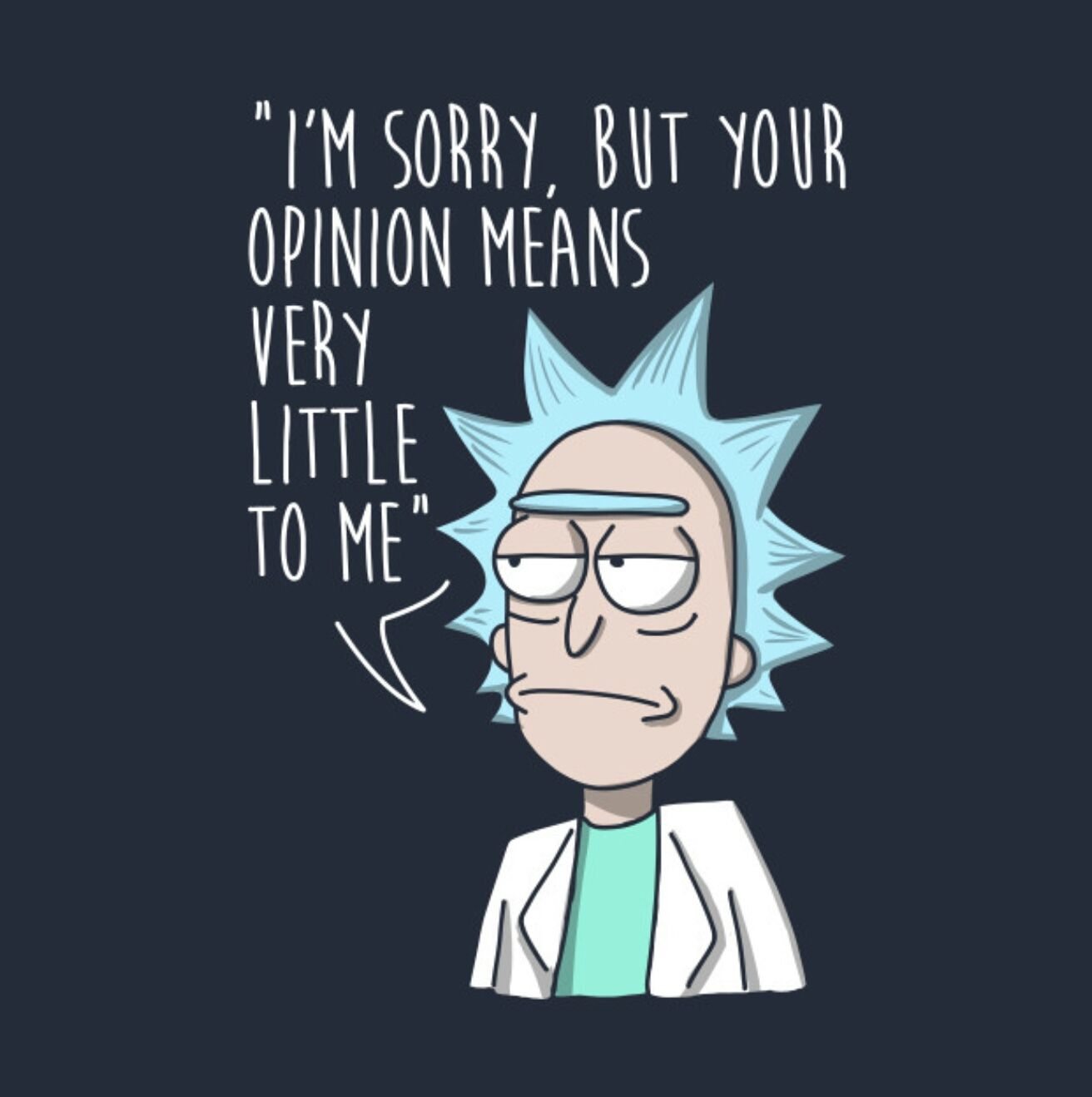 Best Rick And Morty Quotes Brilliant Warning Sad Dump  Pinterest  Cartoon Tvs And Wallpaper