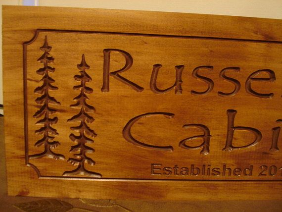 Camping Sign Wooden Carved Custom Wel e Signs Family Last