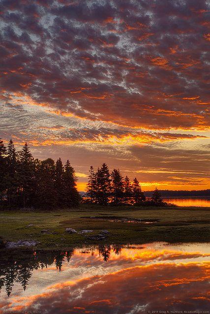 Acadia National Park Maine Lindas Paisagens Fotos De Paisagem