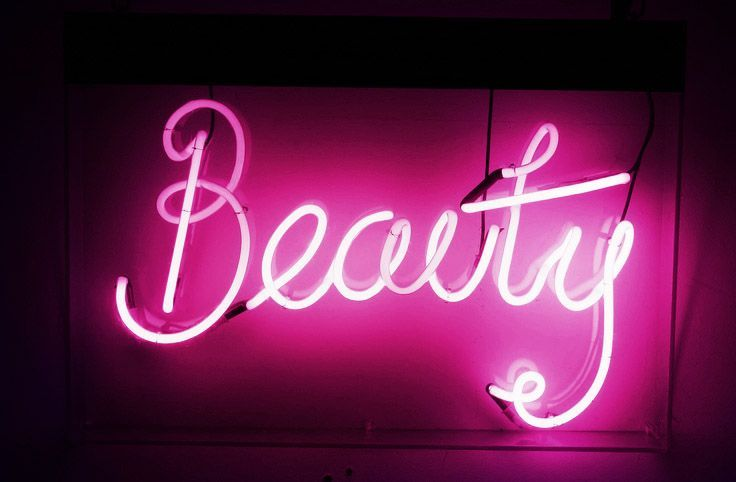 Littlehungrybabe Neon Signs Pink Neon Sign Neon Aesthetic