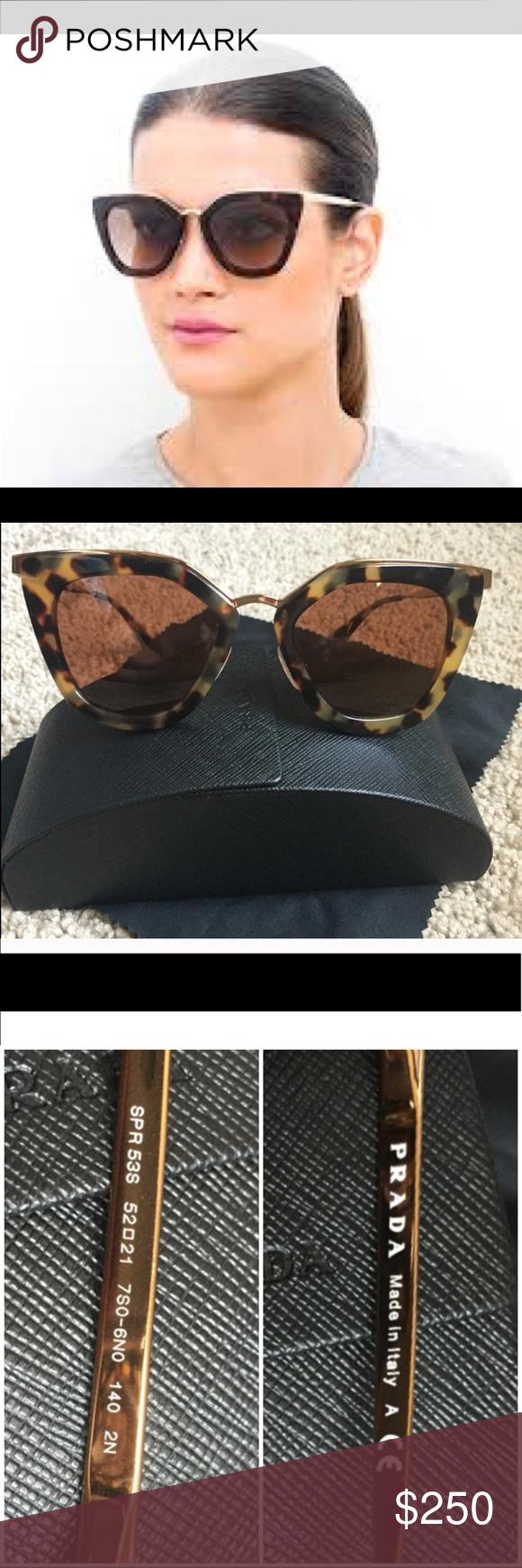 d45b349484 ... inexpensive prada cinema evolution sunglasses prada cinema evolution  sunglasses in tortoise shell. cat eye frame