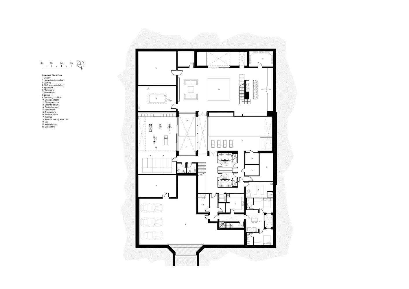 Gallery Of Jura Lewandowski Architects 30 Basement Plans Lewandowski Ground Floor Plan