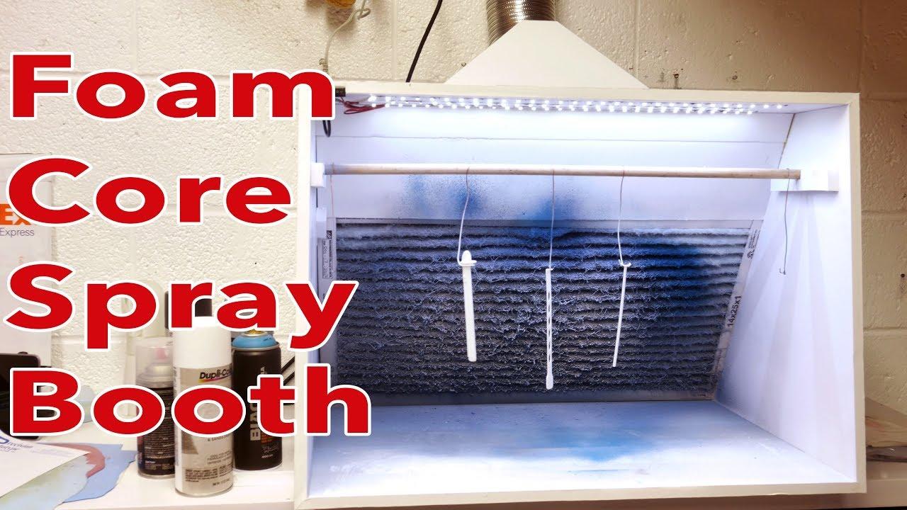 DIY Spray Booth Is Both Light And Lit Spray booth, Spray