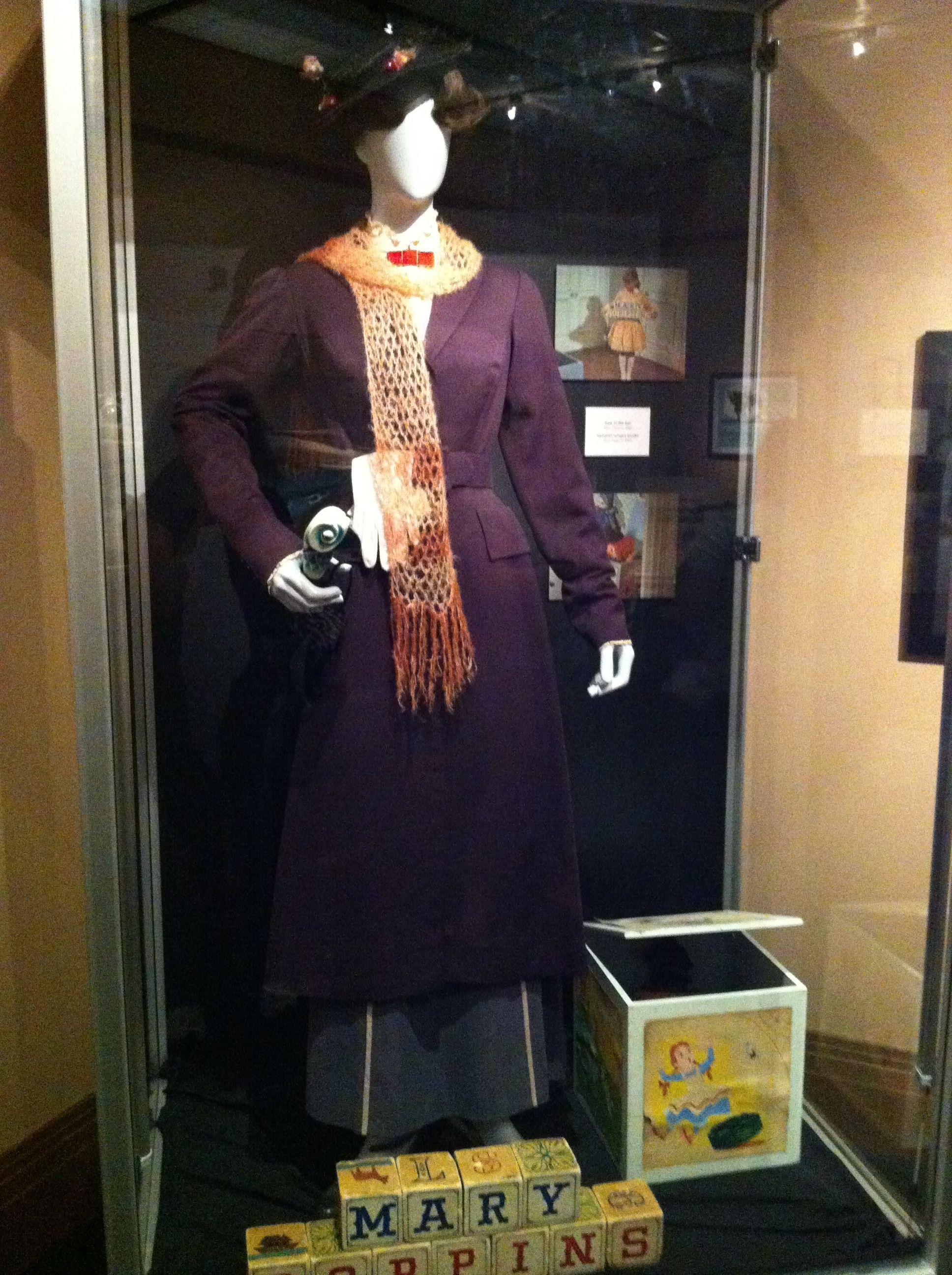 Original Mary Poppins costume worn by Julie Andrews