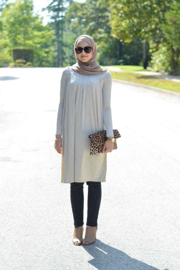 model baju muslim casual tapi modis | Busana Muslim | Pinterest