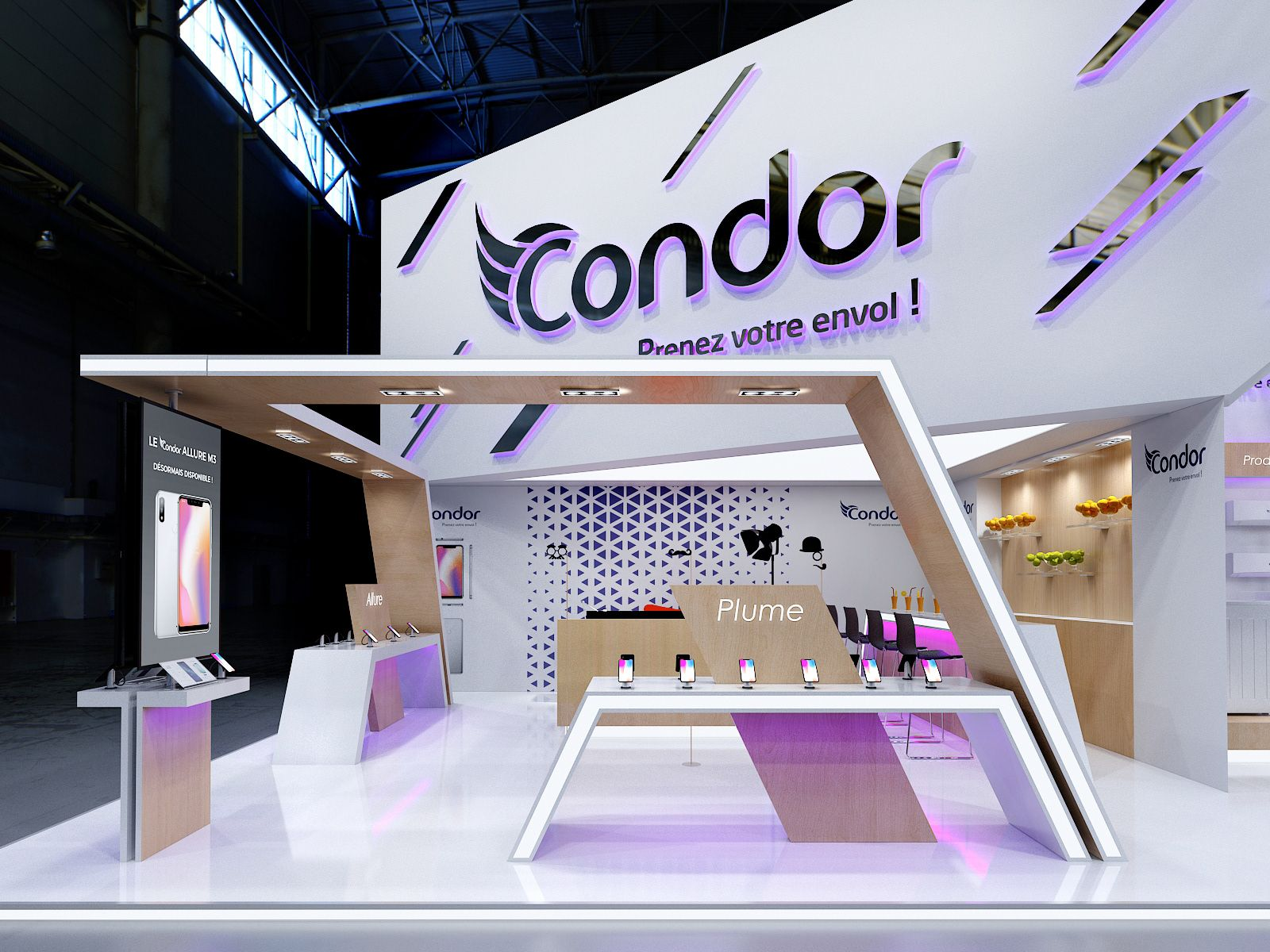 Exhibition Stand Giveaways : Condor ifa on behance exhibits exhibition stand design