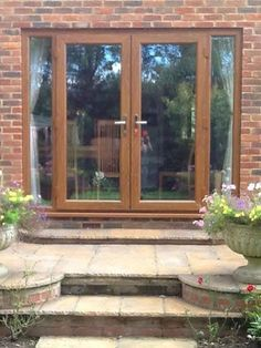 Light Oak French Doors with Side Panels – March 06 2019 at 0…