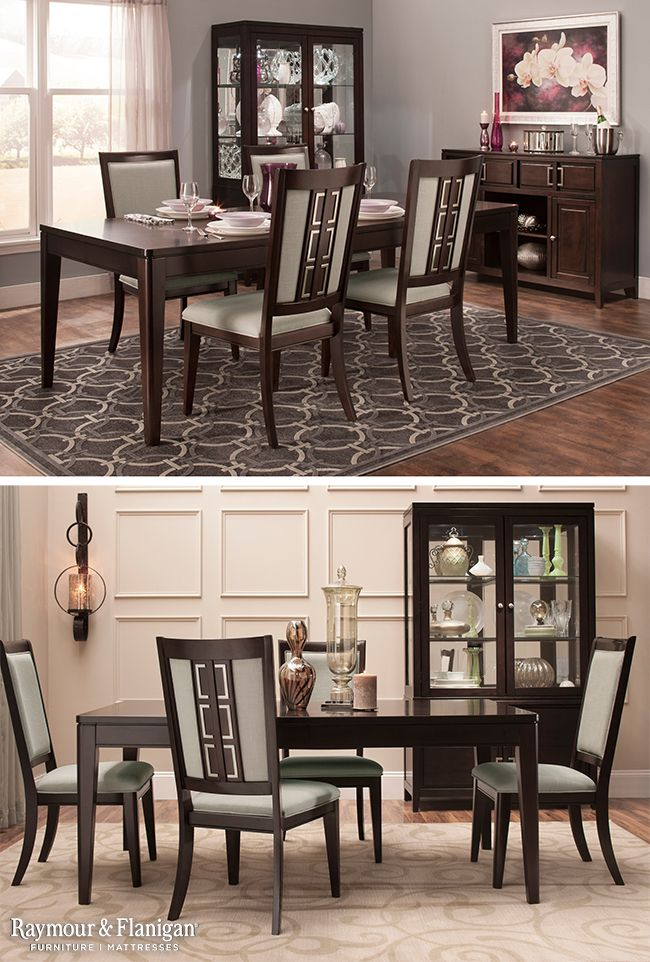 Cadence 5 Pc Dining Set Dining Sets Raymour And Flanigan Furniture Dining Set Contemporary Furnishings Simple Room #raymond #and #flanigan #living #room #set