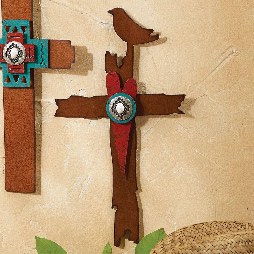 Celebrating Trust Metal Art Wall Cross | possible presents ...