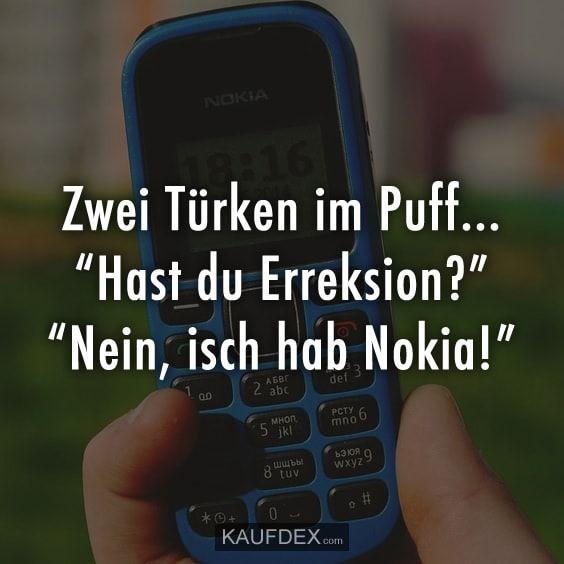 """Zwei Türken im Puff… """"Hast du Erreksion – Lustige – Zitate"""