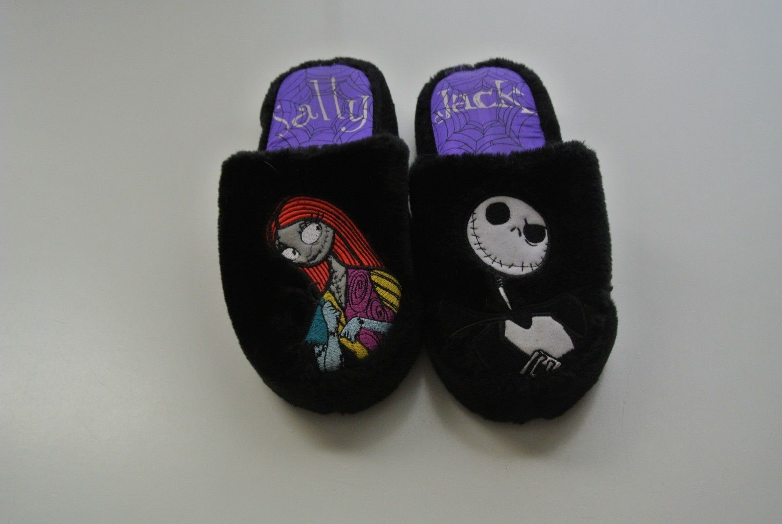 NIGHTMARE BEFORE CHRISTMAS JACK and SALLY SLIPPERS | Nightmare ...
