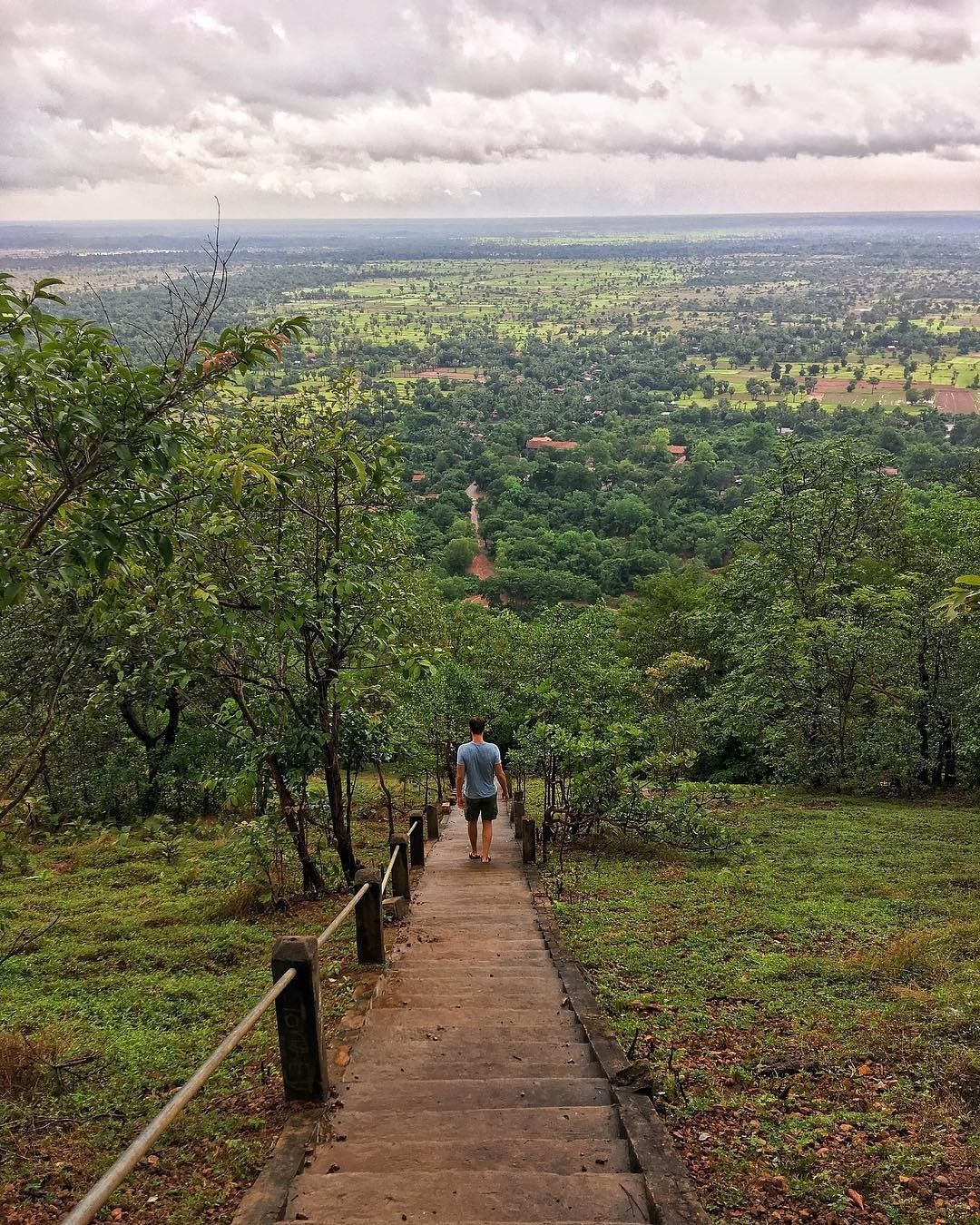 "Siemreap.net on Instagram: ""Phnom Bok is one of the most exciting, less visited places in Angkor Archaeological Park. 🏔️ With 633 steps to reach the summit, Phnom Bok…"""