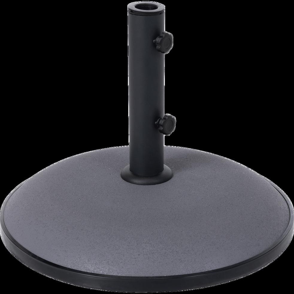 pied de parasol en ciment 30kg gris