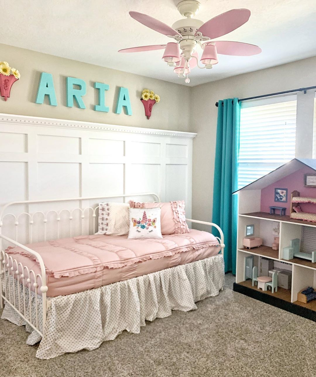 Girl bedroom decor. Beddys. Beddys bedding. Wainscoting. Girls room. Bedroom decor. Little girl room. Doll cabinet. Doll house. #beddysbedding Girl bedroom decor. Beddys. Beddys bedding. Wainscoting. Girls room. Bedroom decor. Little girl room. Doll cabinet. Doll house. #beddysbedding
