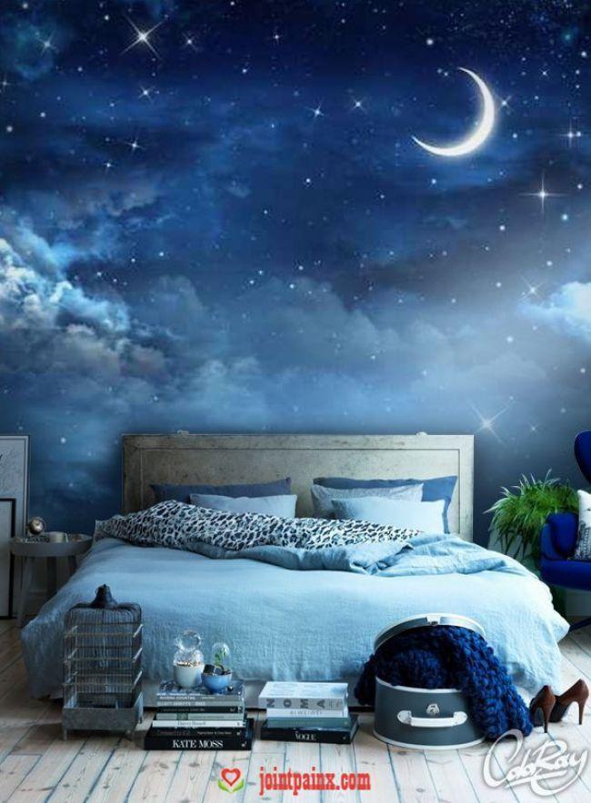 Fototapete | Schlafzimmerfarben, Wohnen, Zimmer farben ...
