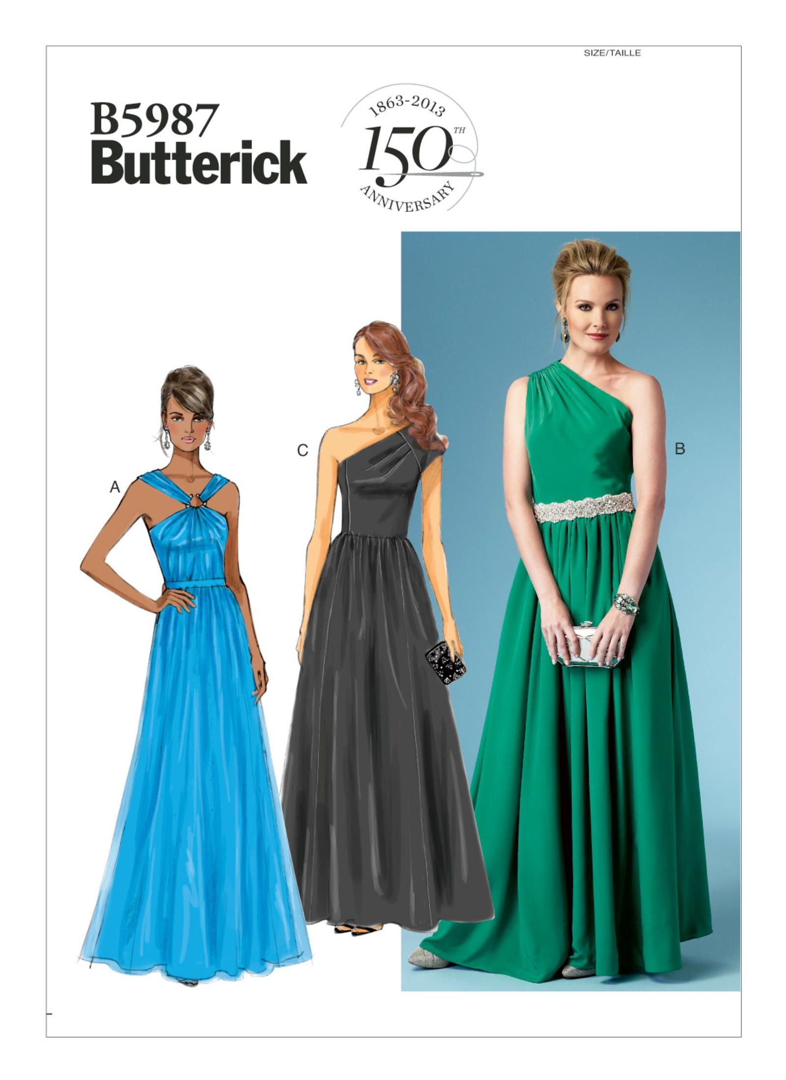 B5987 | Butterick Patterns | SEWING PATTERNS FOR ME | Pinterest ...