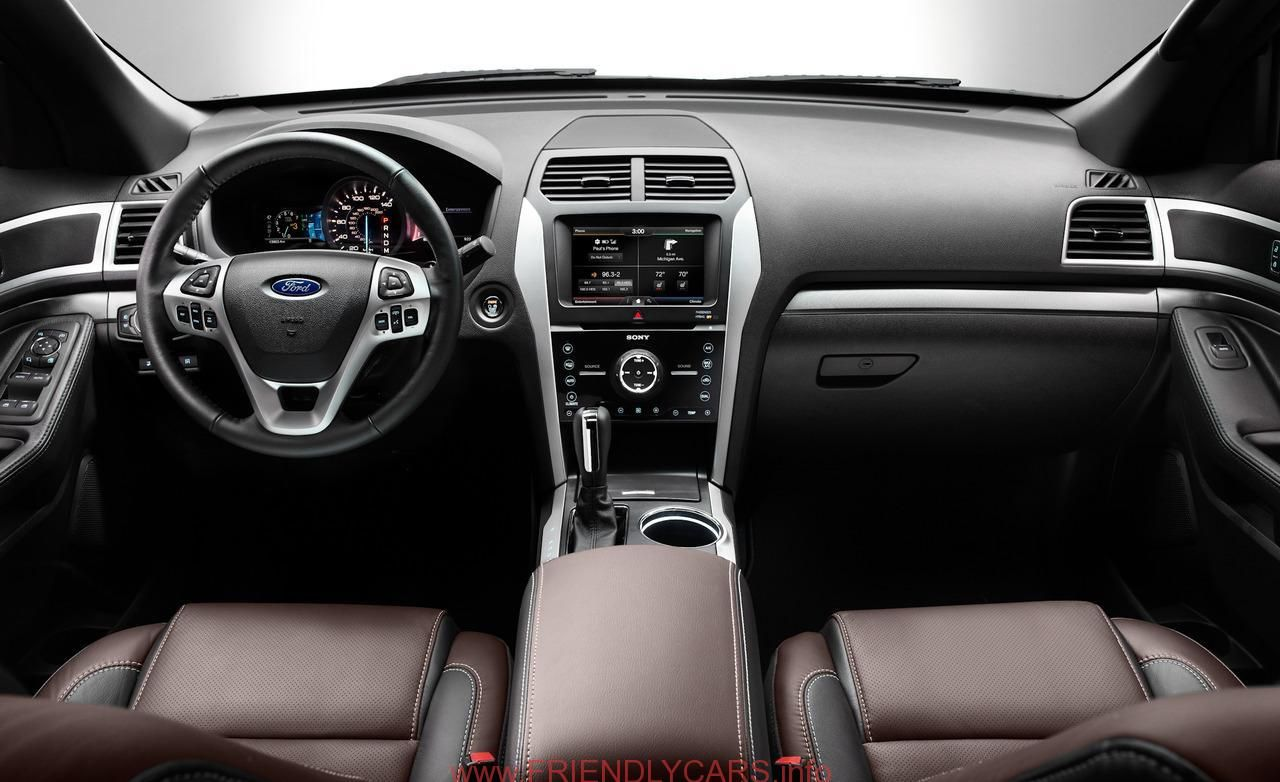 Nice Ford Explorer Xlt 2013 Interior Car Images Hd 2013 Ford