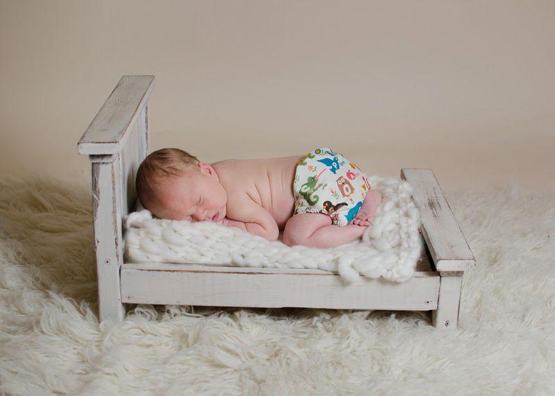 Nyfødtbleie fra Buttons