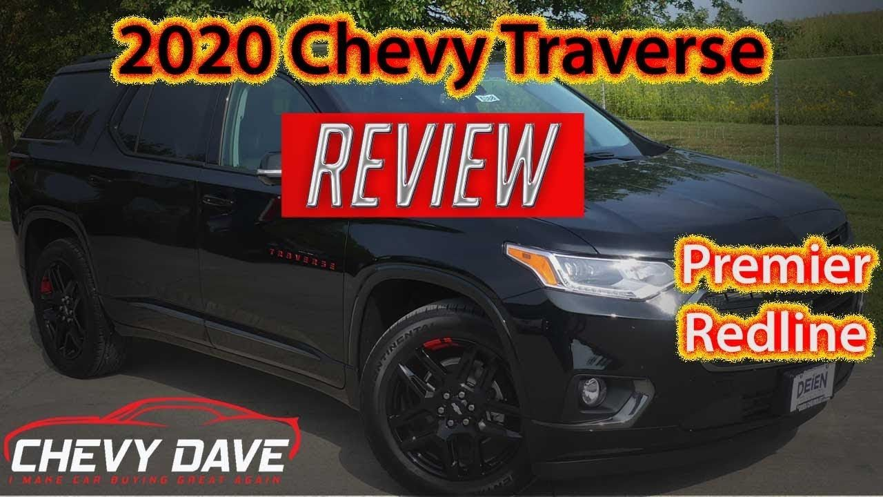 2020 Chevy Traverse Redline Edition Review Chevy Traverse Premier Revi Chevy Redline Chevrolet Traverse