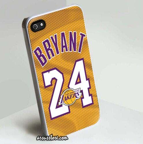 Kobe Bryant 24 Los Angeles Lakers NBA iPhone Case 5/5S