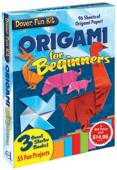Invite your friends over to turn Origami into Origam-we! Have fun learning how to craft using paper with this beginner's kit.  Origami+For+Beginners+Kit-