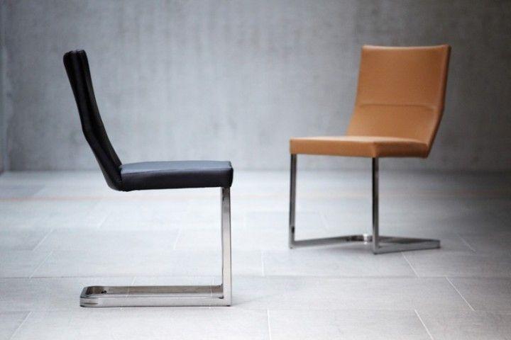 mano stuhl esszimmer freischwinger jan kurtz leder schwarz wohnzimmer pinterest jan kurtz. Black Bedroom Furniture Sets. Home Design Ideas