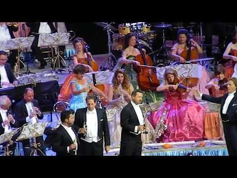 Andre Rieu En Chile Vals De Los Viejos Danubio Azul Youtube Youtube Concert Music