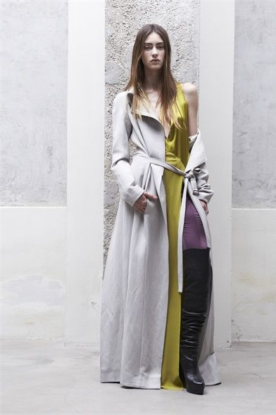 love the lines and colors at ilaria nistri
