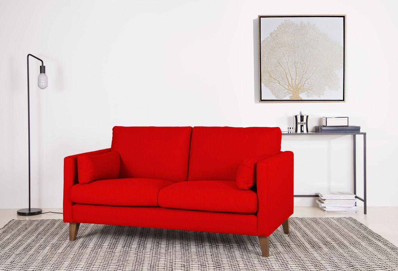 Farbe Bekennen Und Frischen Schwung Ins Wohnzimmer Bringen Rot