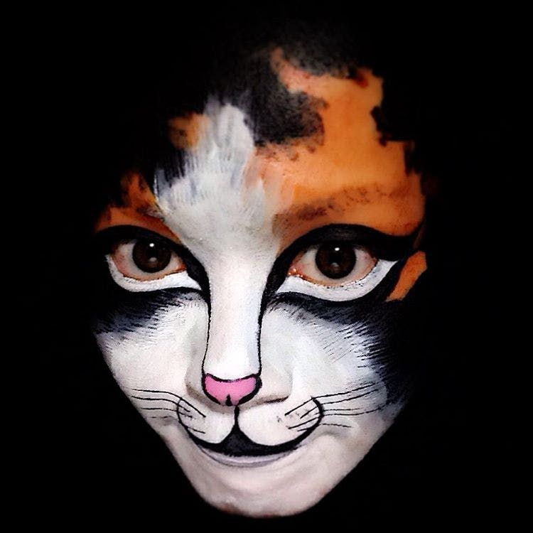 19 of the Best Cat Costumes Found on Instagram Costumes, Cat and - cat halloween makeup ideas